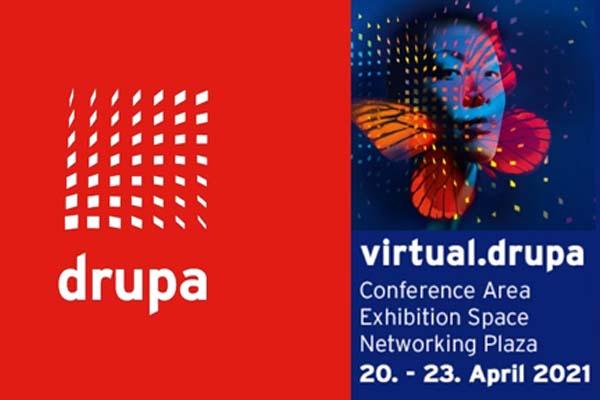 A Drupa Virtual ocorrerá em Abril
